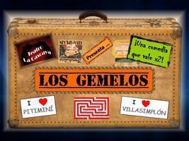 Cartel del espectáculo Los Gemelos